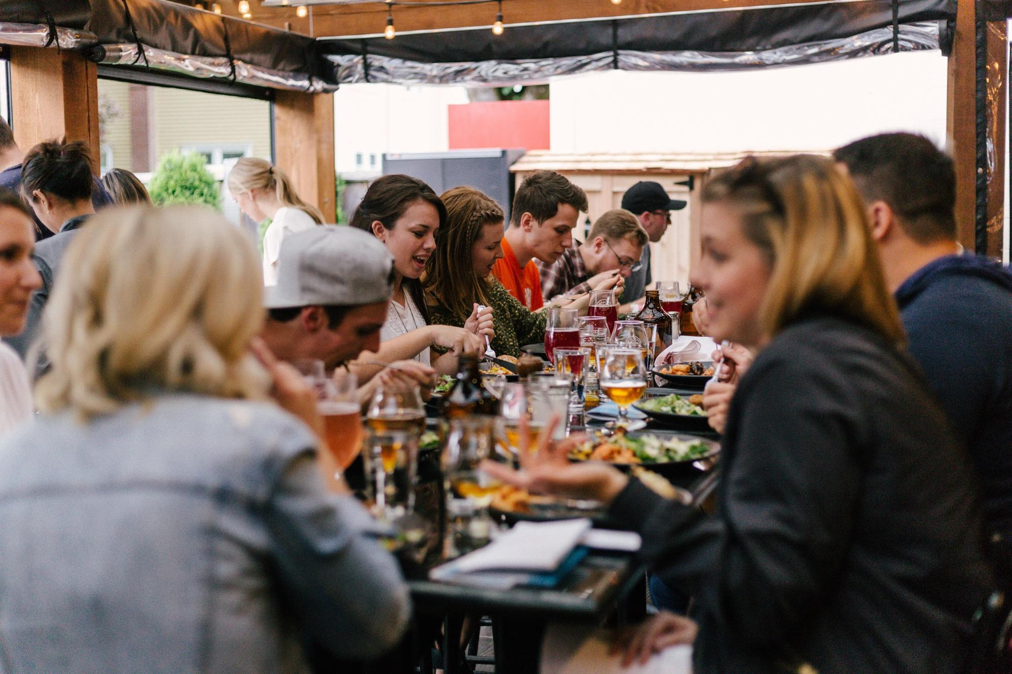 Dining out with people with hearing loss?